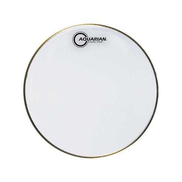 """Aquarian Classic Clear White 16"""" Drum Head"""