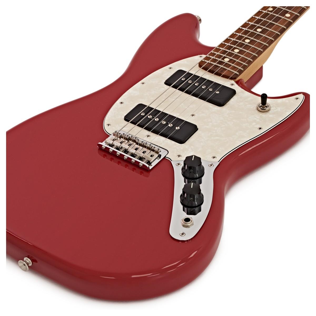 Fender mustang 90 electric guitar pau ferro torino red loading zoom