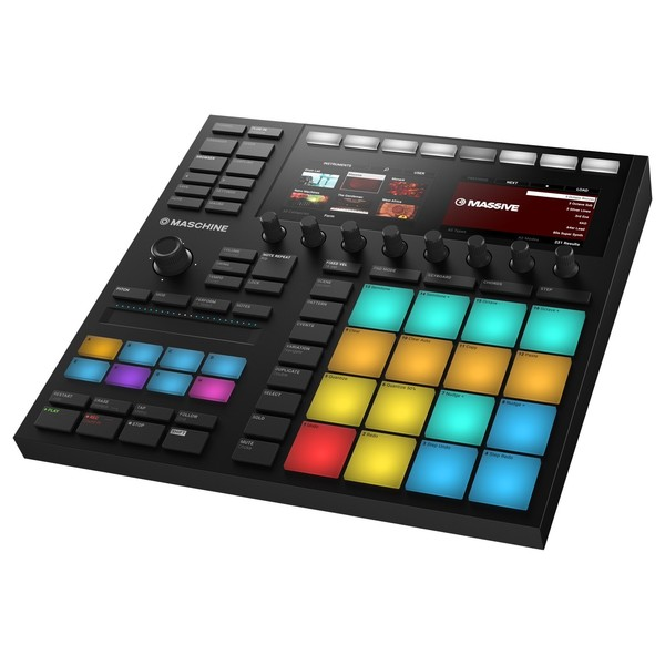 Native Instruments Maschine MK3 Controller - Angled 2