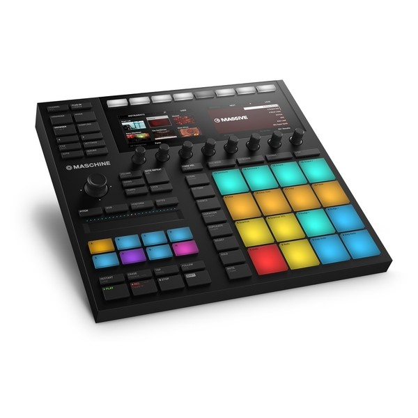 Native Instruments Maschine MKIII - Angled 4