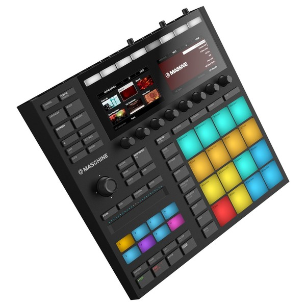 Native Instruments Maschine MK3, Black - Side
