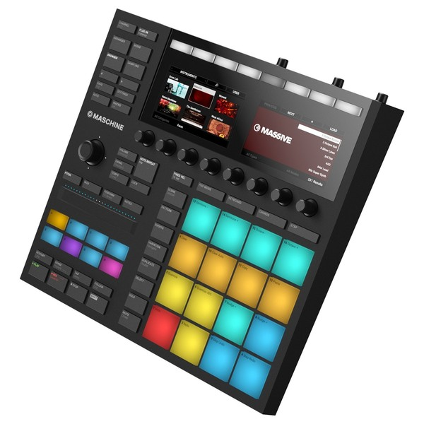 Native Instruments Maschine MK3, Black - Side 2