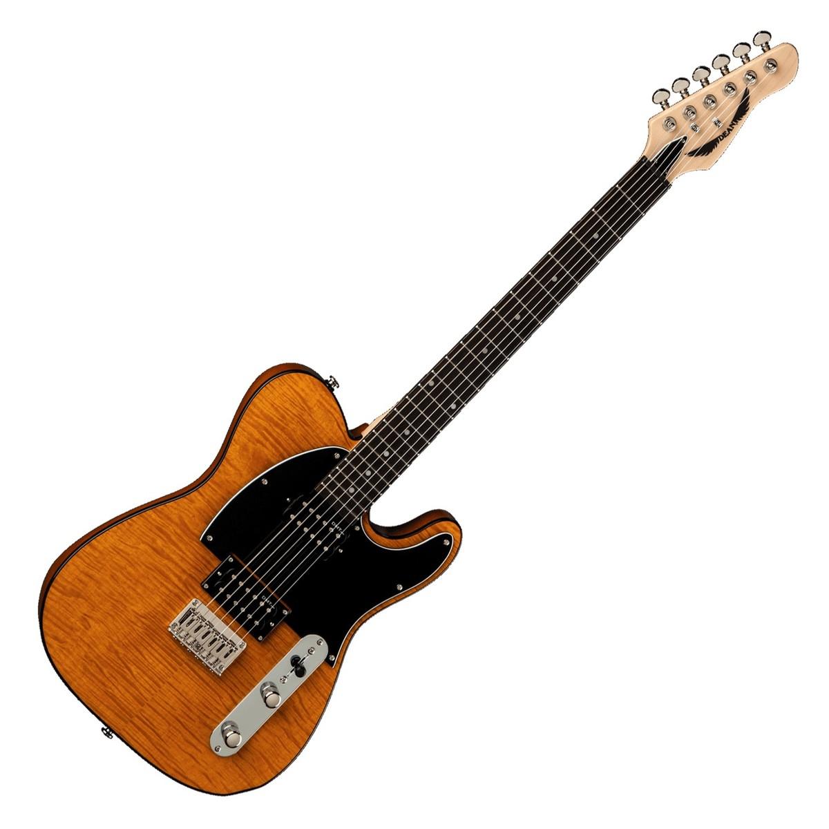 dean nashvegas select electric guitar trans amber at gear4music. Black Bedroom Furniture Sets. Home Design Ideas