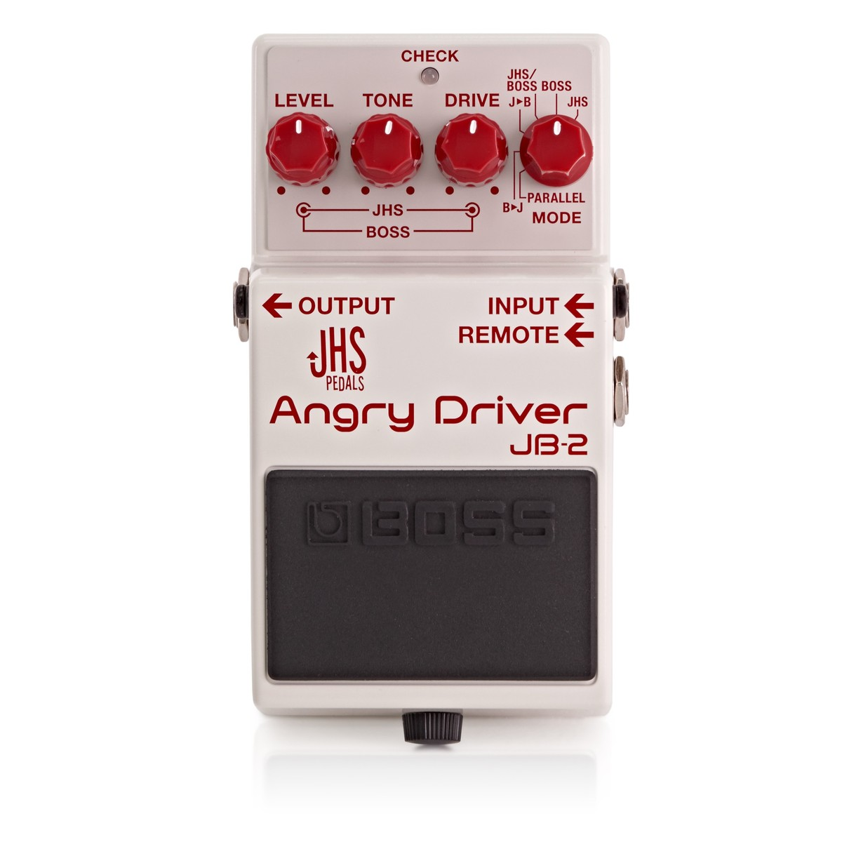 Boss Jhs Collaboration Jb 2 Angry Driver Blues Guitar Pedal Wiring Diagrams Is A Housing With Both Modified And Charlie Allowing Stacking Parallel Path Various Switching Options