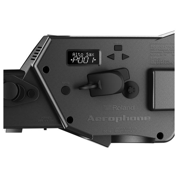 AE-10G close up rear panel