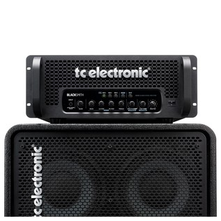 TC Electronic Blacksmith 2.0 Bass Amp Head Stack