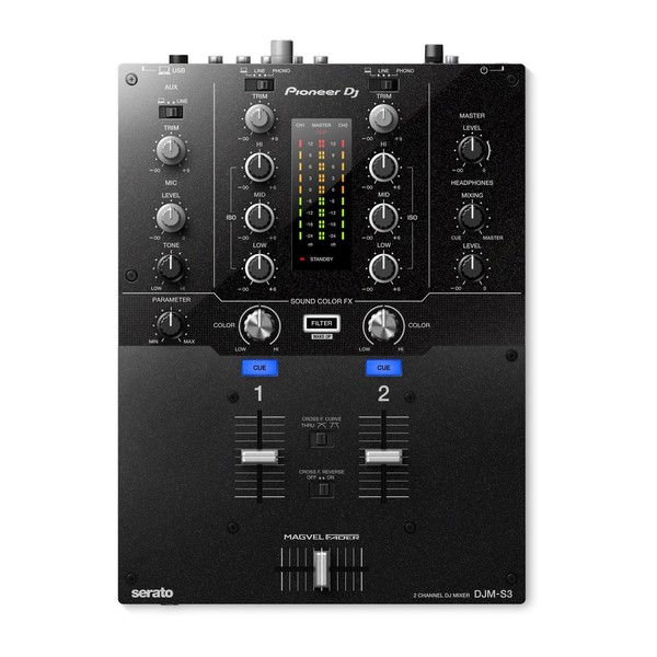 Pioneer DJM-S3 DJ Mixer - Main
