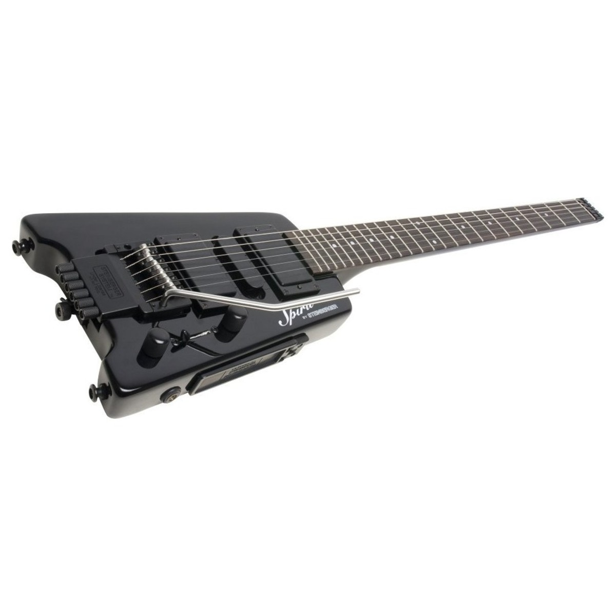 Steinberger Spirit Gt Pro Deluxe Electric Guitar Black At
