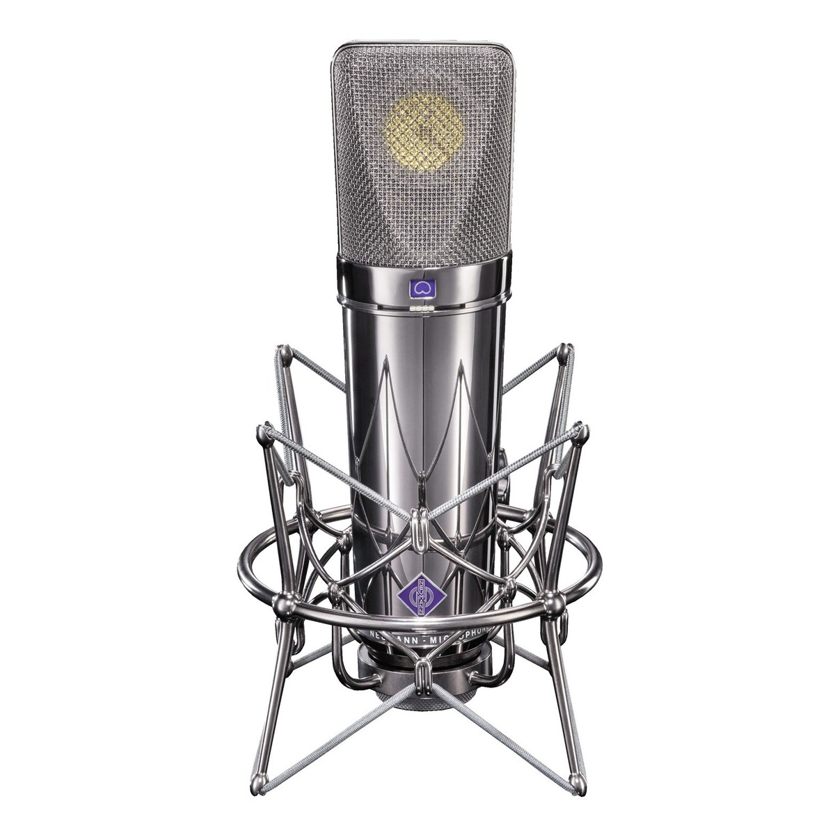 Neumann U 87 Rhodium Edition Studio Microphone At Gear4music Details About New U87 Type Circuit Condenser Case Shock Limited Loading Zoom