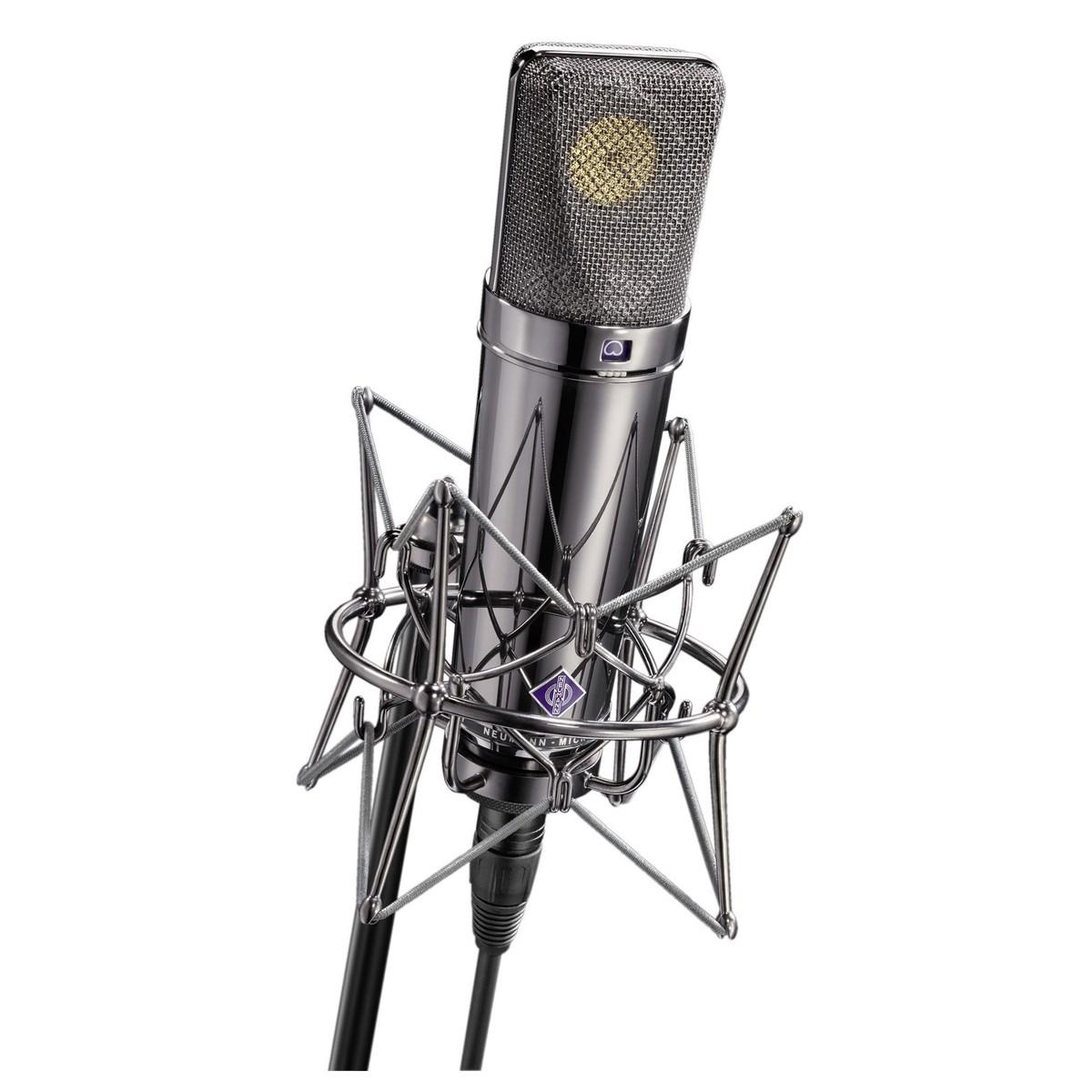 Neumann U 87 Rhodium Edition Studio Microphone At Gear4music Details About New U87 Type Circuit Condenser Case Shock Loading Zoom