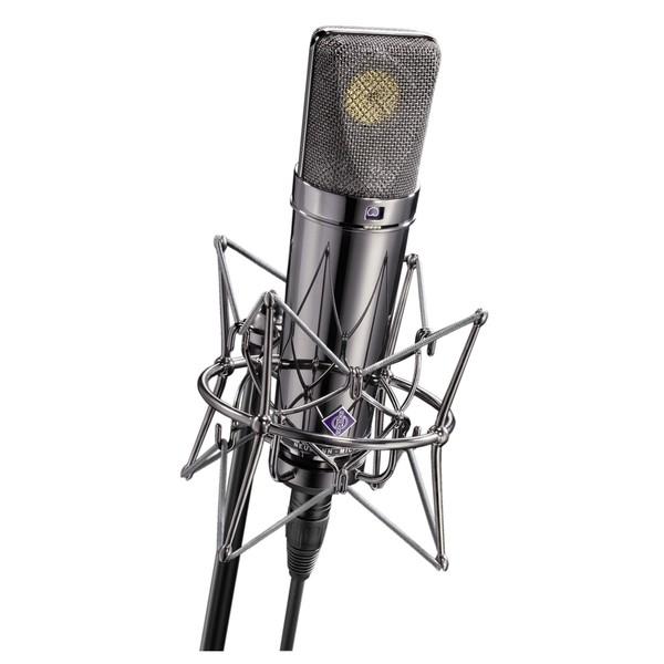 neumann u 87 rhodium edition studio microphone at gear4music. Black Bedroom Furniture Sets. Home Design Ideas