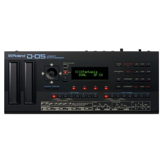 Roland D-05 Linear Synthesizer - TOp