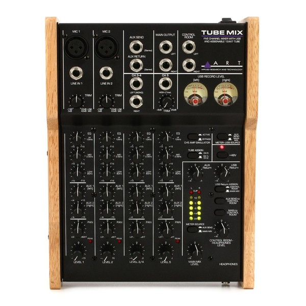 Art TubeMix 5-Channel Mixer - Top