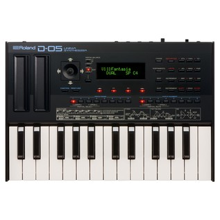 Roland D-05 Linear Synthesizer With Roland K-25m Keyboard - Top