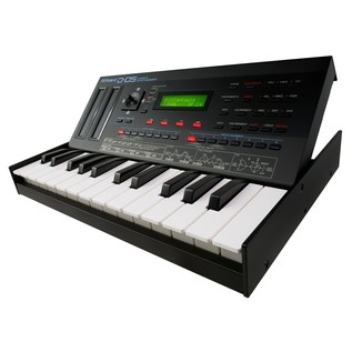 Roland D-05 Linear Synth With Roland K-25m Keyboard - Angled Lifted