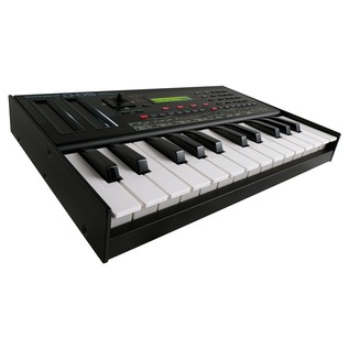 Roland D-05 Linear Synthesizer With Roland K-25m Keyboard - Angled 4