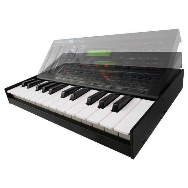 Roland D-05 Linear Synthesizer With Roland K-25m Keyboard - Attachment