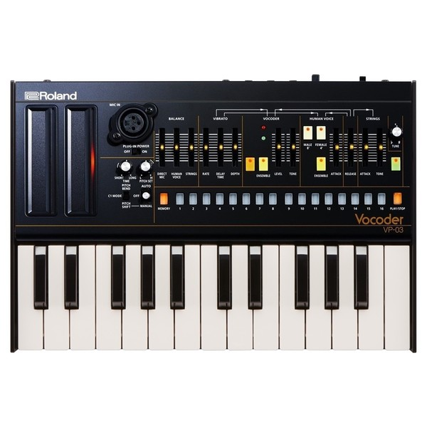 Roland VP-03 Module with K-25m Keyboard - Top