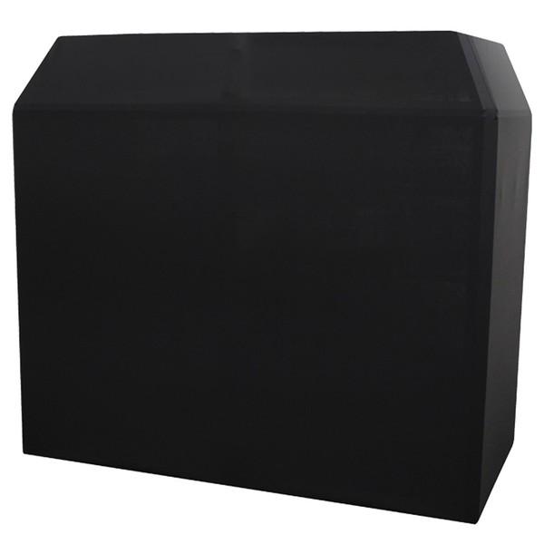 Equinox Aluminium Lightweight DJ Booth System MKII, Black Cover Equinox Aluminium Lightweight DJ Booth System MKII, Black Cover