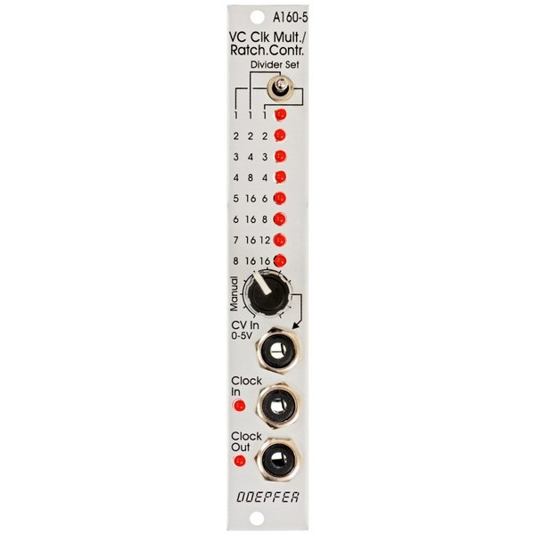Doepfer A-160-5 Clock Multiplier/Ratcheting Controller 1