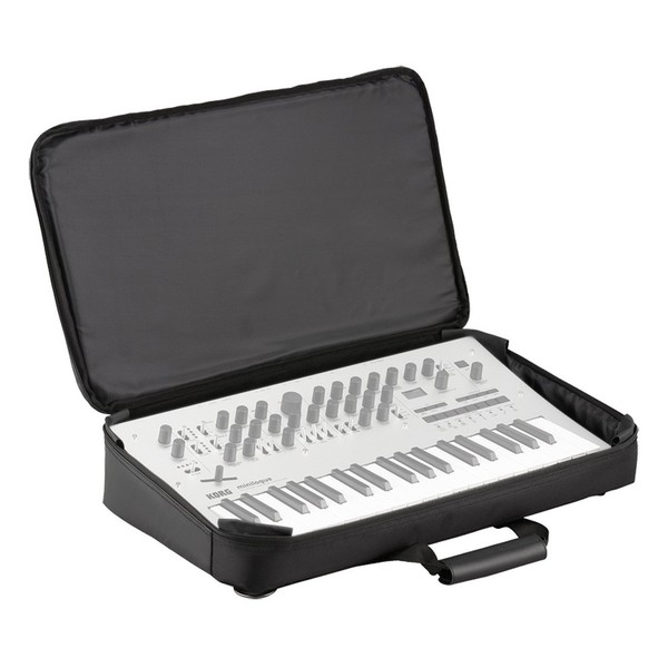 Korg Soft Case for Minilogue Synthesizer - Angled Open (Minilogue Not Included)