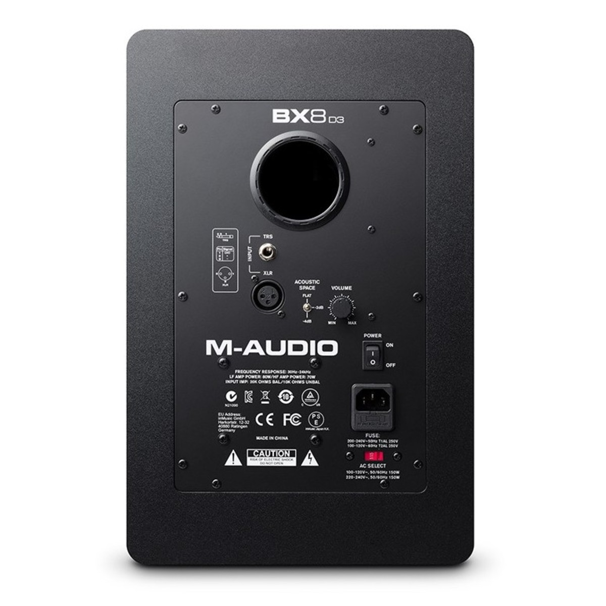 m audio bx8 d3 studio monitor b stock at gear4music. Black Bedroom Furniture Sets. Home Design Ideas