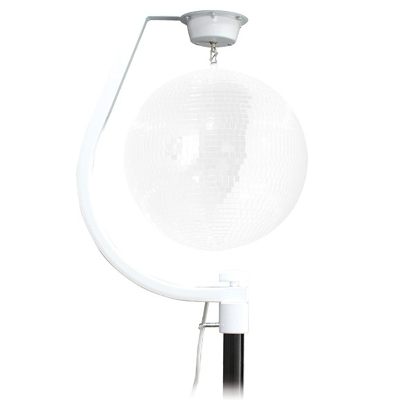 Equinox Curve Mirror Ball Hanging Bracket, Up To 30cm