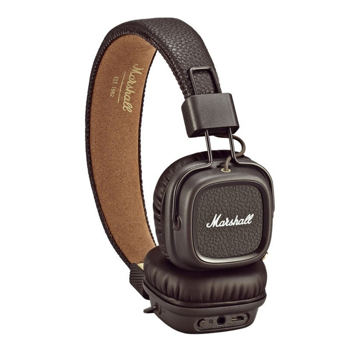 marshall major ii bluetooth casque brown bo te ouverte. Black Bedroom Furniture Sets. Home Design Ideas