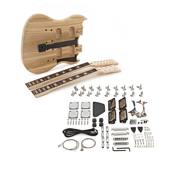 Brooklyn Double Neck Guitar DIY Kit