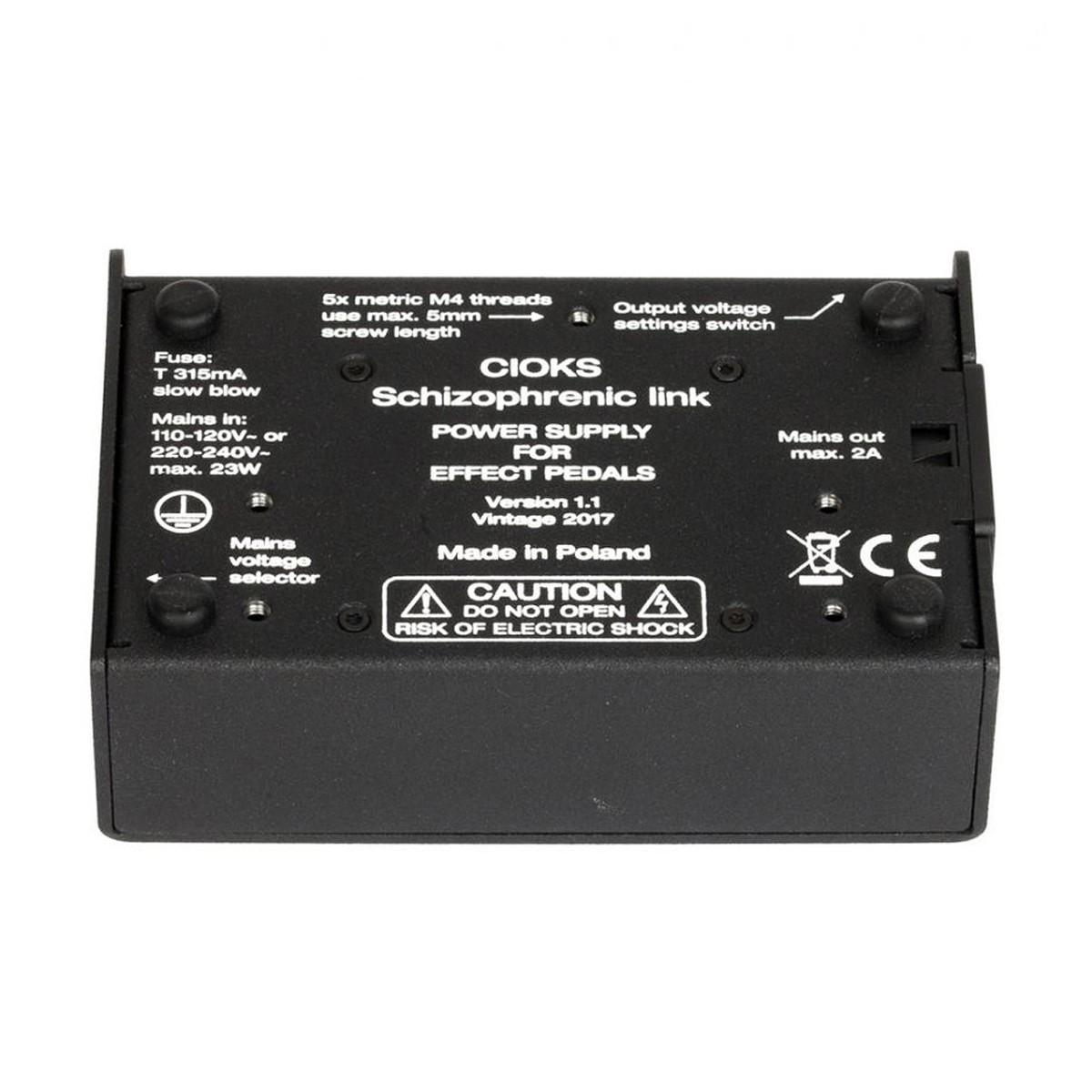 Cioks Schizophrenic Link Power Supply At Gear4music Fuse Box Adapter Loading Zoom