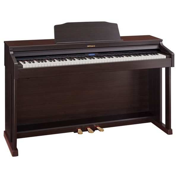 Roland HP601 Digital Piano, Contemporary Rosewood 2