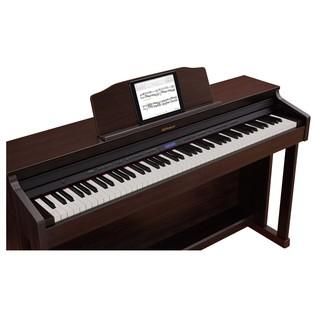 Roland HP601 Digital Piano, Contemporary Rosewood 3