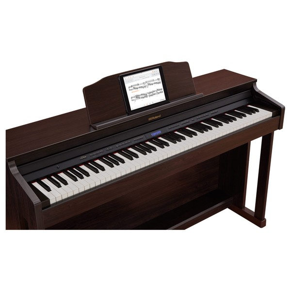 Roland HP601 Digital Piano, Contemporary Rosewood 3