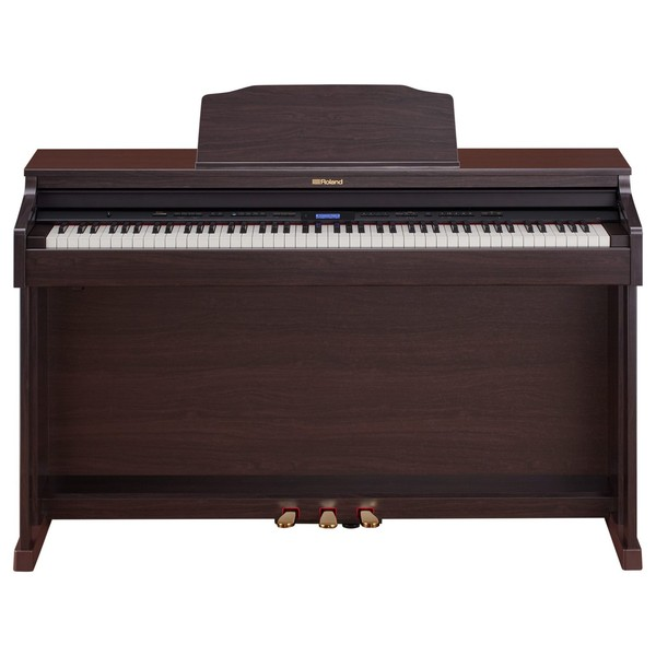 Roland HP601 Digital Piano, Contemporary Rosewood Main
