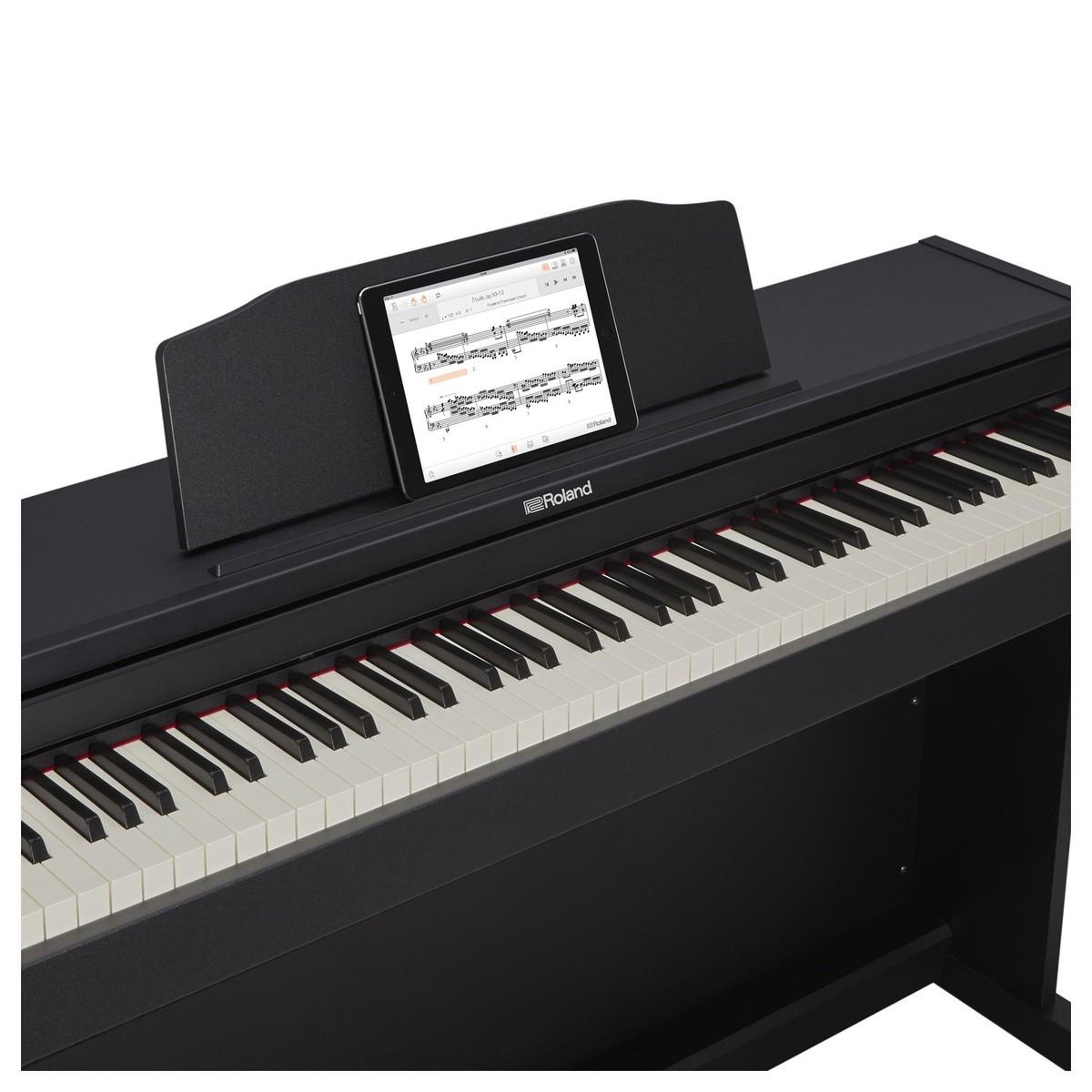 Roland rp 102 digital piano contemporary black at for Piani domestici contempory