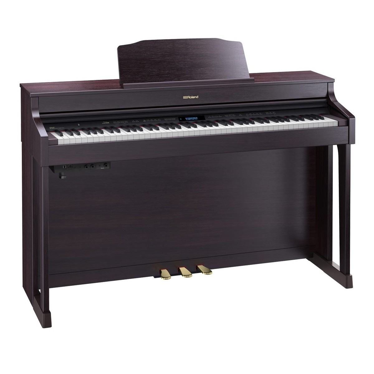 roland hp603a digital piano contemporary rosewood at. Black Bedroom Furniture Sets. Home Design Ideas