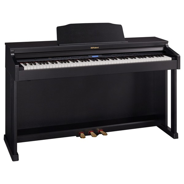 Roland HP601 Digital Piano, Contemporary Black 2