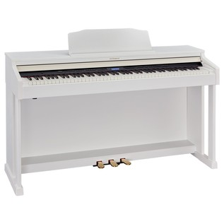 Roland HP601 Digital Piano, Contemporary White 2