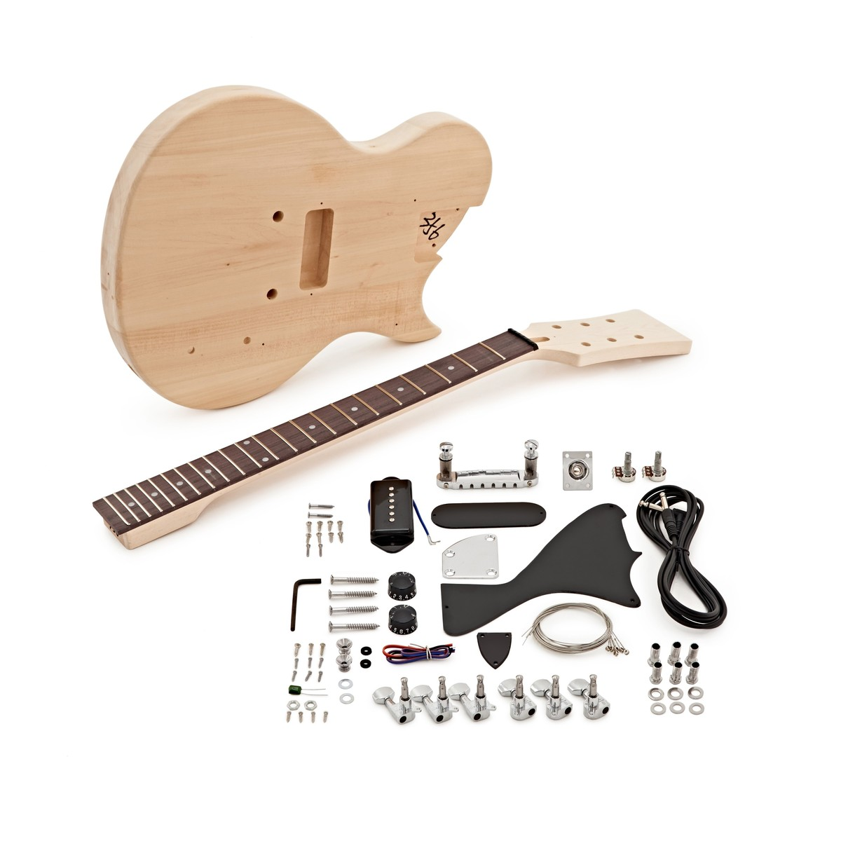 new jersey jr electric guitar diy kit at gear4music. Black Bedroom Furniture Sets. Home Design Ideas
