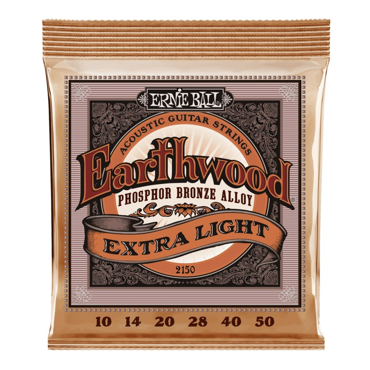 Ernie Ball Earthwood Phosphor Bronze Extra Light 10 50 At