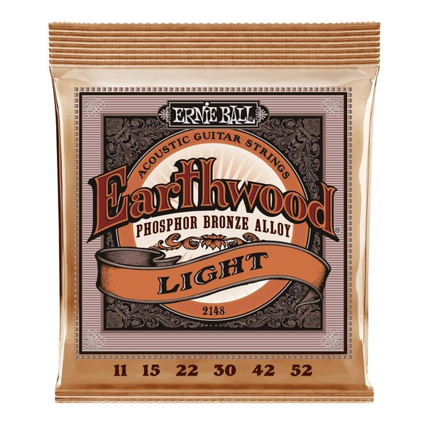 Ernie Ball Earthwood Phosphor Bronze Light 11-52