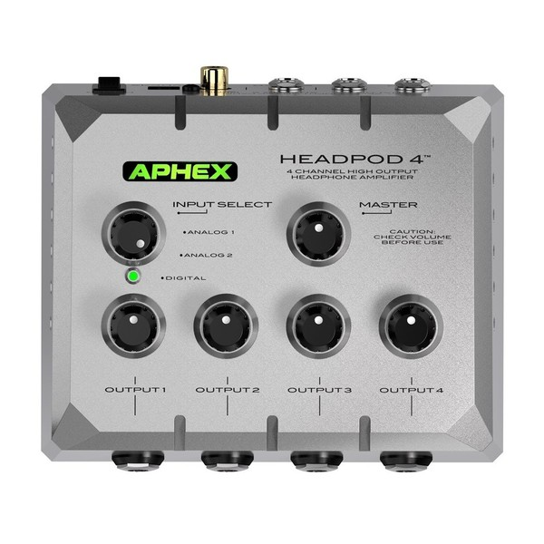 Aphex Headpod4 High Output Headphone Amplifier 1