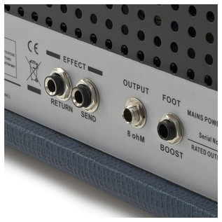 SubZero Tube-H50R 50W Valve Guitar Amp Head