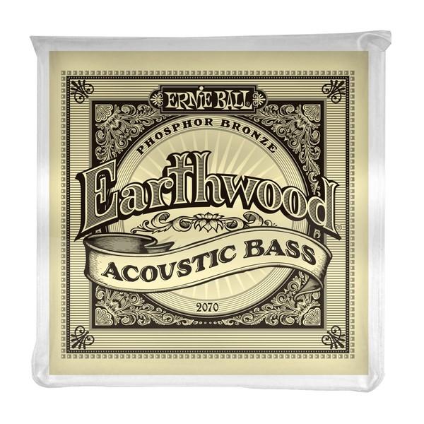Ernie Ball Earthwood 2070 Acoustic Bass Set