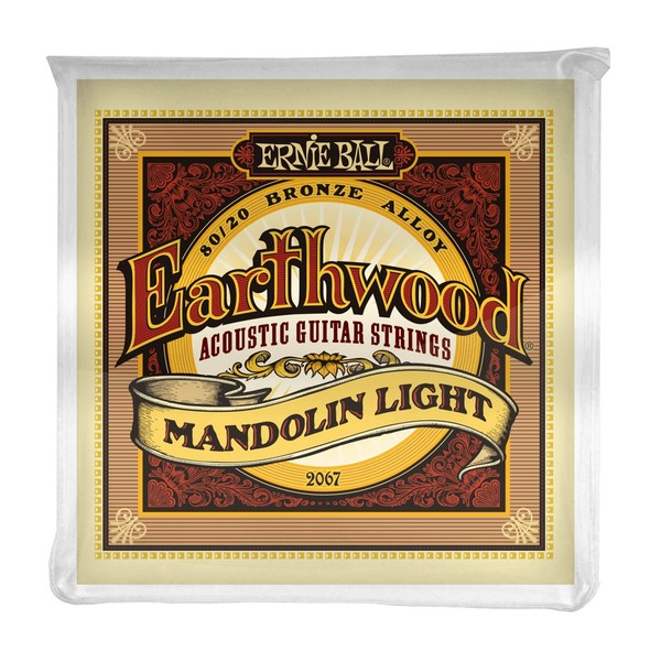 Ernie Ball Earthwood 2067 Mandolin Light Set
