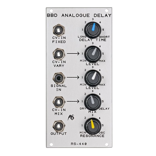 Analogue Systems RS-440 Analogue Delay Module Main