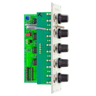 Analogue Systems RS-430 Distortion Module Side