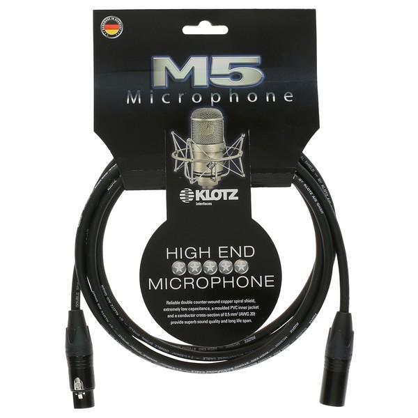 Klotz M5FM XLR Microphone Cable, 3m