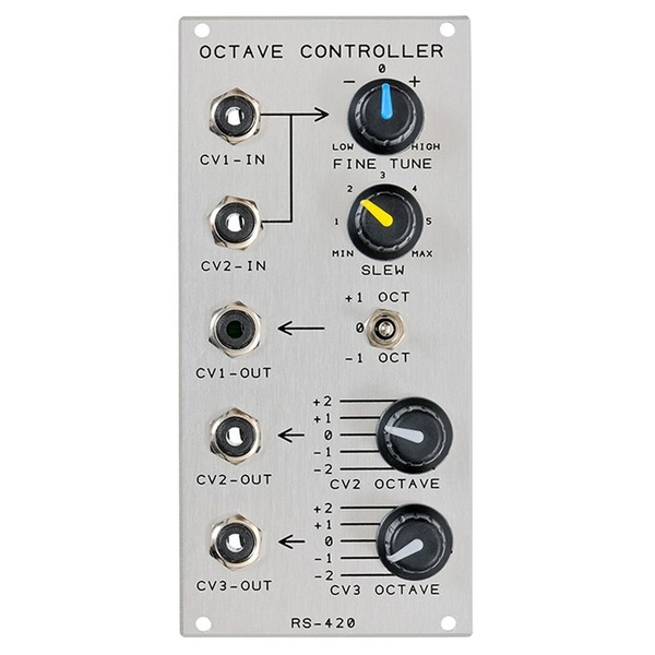 Analogue Systems RS-420 Octave Controller Module Main