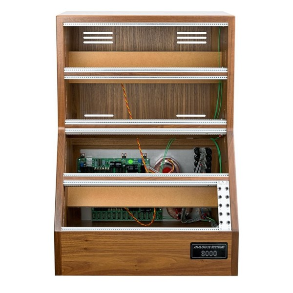 Analogue Systems RS8000 Walnut Cabinet - Front